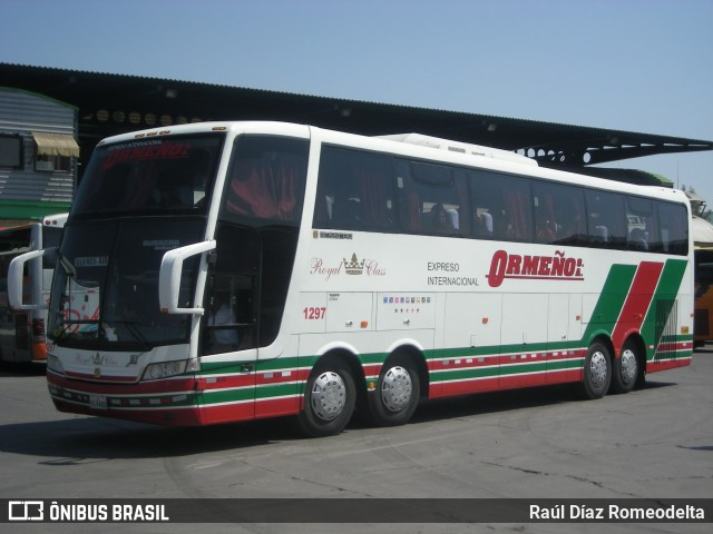 Expreso Ormeño, Busscar Jum Buss 400 8x2.