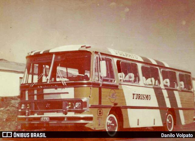 Ônibus Marcopolo I da Voltur - Volpato Turismo. Foto: Danilo Volpato.