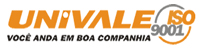 logo logotipo Univale Transportes