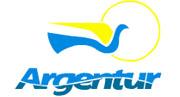 Logotipo Argenta - Argentur, Transporte (RS)