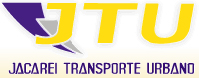 logo logotipo JTU - Jacareí Transporte Urbano
