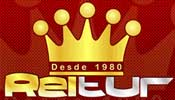 Logotipo Reitur Turismo (RJ)