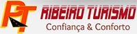 Logotipo Ribeiro Turismo (Muriaé-MG)