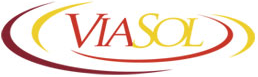logo logotipo ViaSol Transportes Rodovi�rios