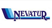 Logotipo Nevatur Transportes e Turismo (SC)