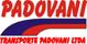 Transporte Padovani logo