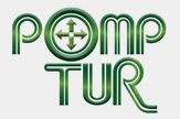 Logotipo Pomp Tur Viagens e Turismo (SP)