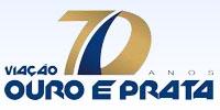 logo logotipo Viação Ouro e Prata