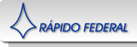 logo logotipo R�pido Federal