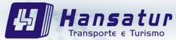 Logotipo Hansatur Transporte e Turismo (SC)