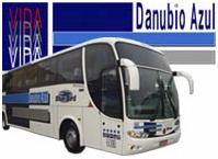 logo logotipo VIDA - Via��o Dan�bio Azul