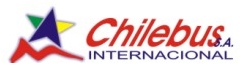logo logotipo Chilebus Internacional