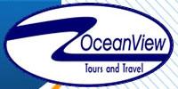 logo logotipo Ocean View Turismo