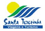 Logotipo Santa Terezinha Viagens (CE)