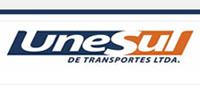 logo logotipo Unesul de Transportes