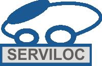 Logotipo Serviloc Locação de Veículos (BA)