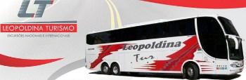 Logotipo Leopoldina Turismo (MG)