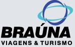 Logotipo Braúna Viagens e Turismo (MG)
