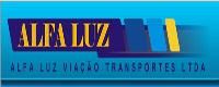 Logotipo Alfa Luz Viação Transportes (DF)