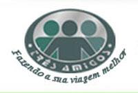 logo logotipo Turismo Três Amigos