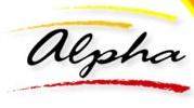 Logotipo Alpha, Auto Viação (RJ)