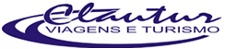 logo logotipo Clautur Viagens e Turismo