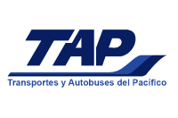 Logotipo TAP - Transportes y Autobuses del Pacífico (México)